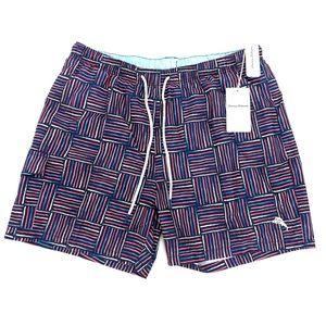 Tommy Bahama Shorts Naples Lei Komo Swim Trunk XL